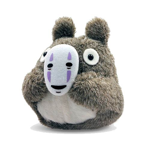 My Neighbor Totoro Totoro with Mask 4-Inch Otedama Plush