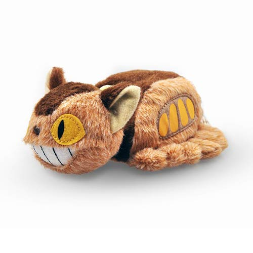 My Neighbor Totoro Neko Cat Bus 5-Inch Otedama Plush