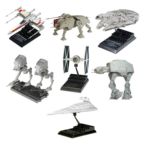 Star Wars Miniature Vehicle Collection 6 Display Box