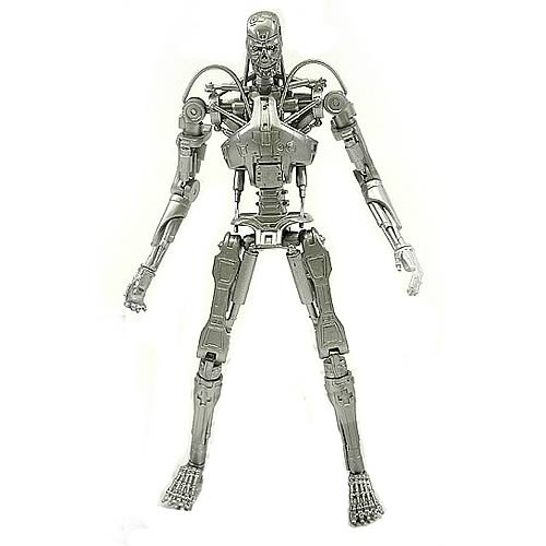 Terminator 2 T-800 Silver Endoskeleton Action Figure