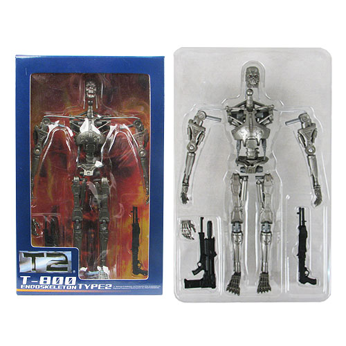 Terminator 2 T-800 Black Endoskeleton Action Figure