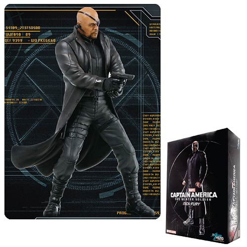 Captain America 2 Nick Fury AHV Pre-Assembled Model Kit