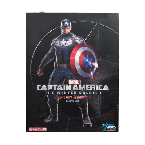 Captain America Winter Soldier AHV Pre-Assembled Model Kit