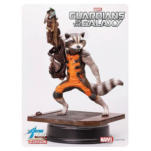 Guardians of the Galaxy Rocket Raccoon 7-Inch AHV Model Kit