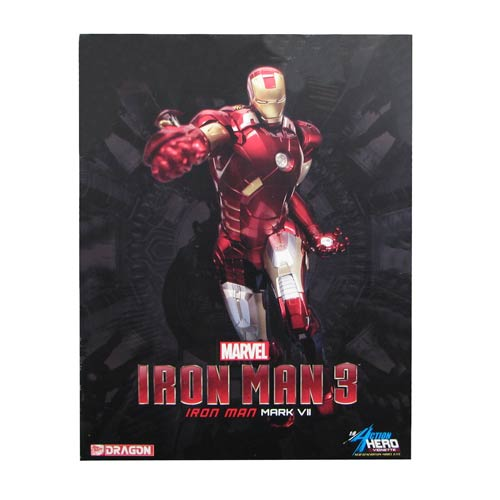 Iron Man 3 Mk. 7 AHV 1:9 Scale Pre-Assembled Model Kit