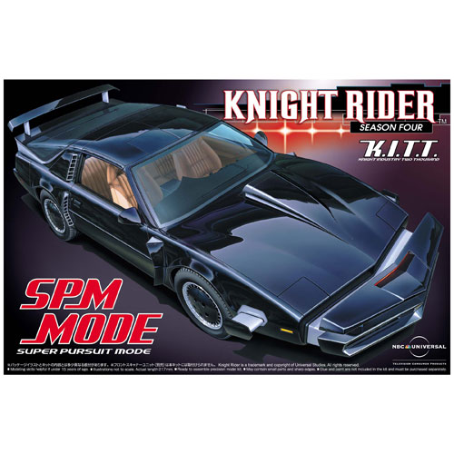 Knight Rider K.I.T.T. Scan Mode 1:24 Scale Model Kit