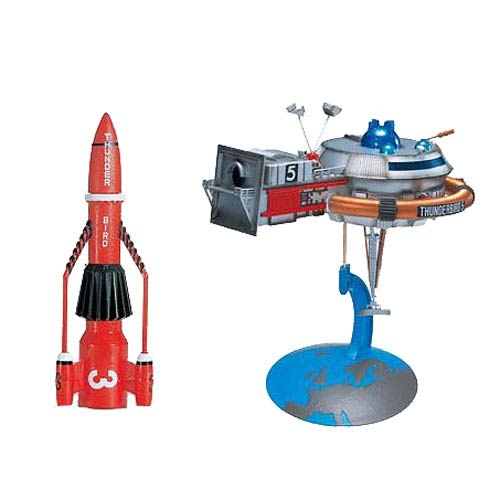 Thunderbirds The Thunderbird 3 and 5 Vehicle 2-Pack