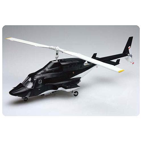 Airwolf Clear Body Version Helicopter Vehicle Model Kit