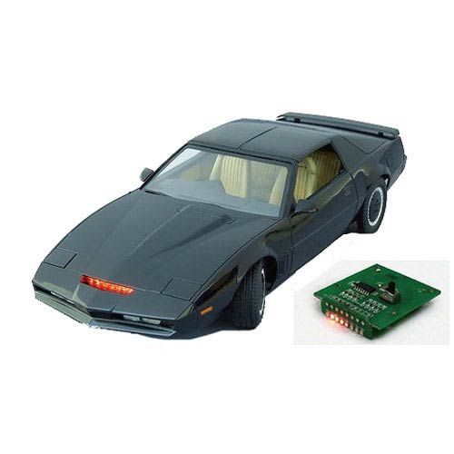 Knight Rider Season 4 KITT Electronic Vehicle Model Kit