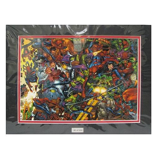 Spider-Man vs. the World Marvel Laser Cel