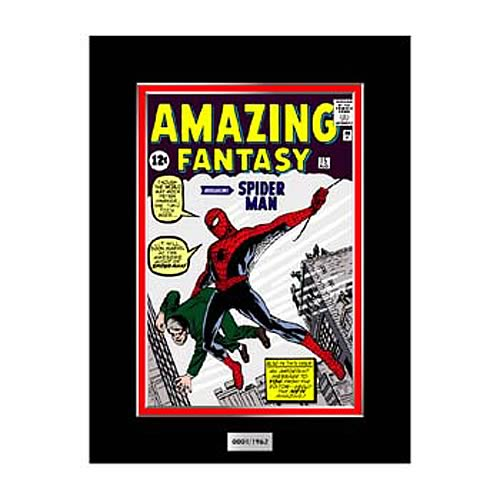 Spider-Man Amazing Fantasy #15 Comic Book Marvel Laser Cel