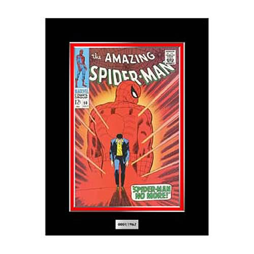 Amazing Spider-Man #50 Comic Book Marvel Laser Cel