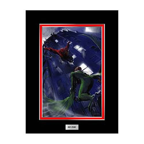 Spider-Man vs. Vulture Marvel Laser Cel