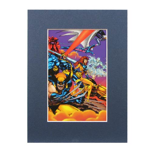 X-Men Team Into Battle Marvel Laser Cel