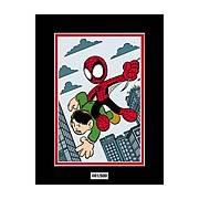 Spider-Man Amazing Fantasy #15 by Chris G Marvel Laser Cel