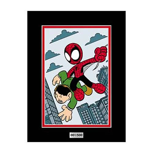 Spider-Man Amazing Fantasy #15 by Chris G Marvel Laser Cel