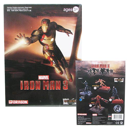 Iron Man Battlefield Collection 3-Inch Mini-Figure Set