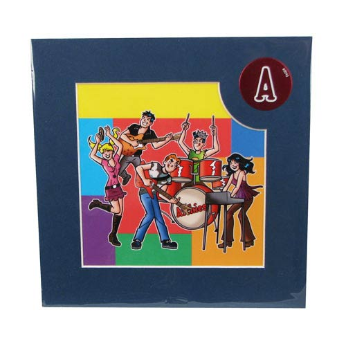 Archie Comics The Archies 8x8 Laser Cel