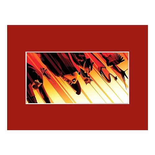 Kung Fu Panda The Flying Fists of the Furious Five Cel