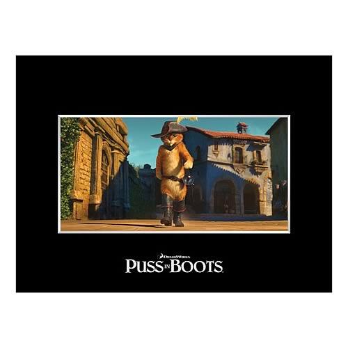 Puss in Boots In Town Fine Art Cel