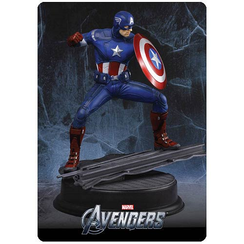 Avengers Captain America 1:9 Scale Pre-Assembled Model Kit