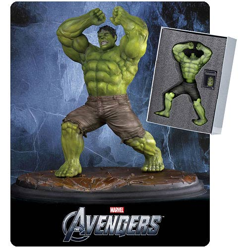 Avengers Hulk 1:9 Scale Pre-Assembled Model Kit