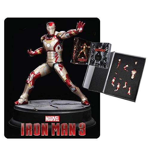 Iron Man 3 Mark 42 Pre-Assembled Action Hero Vignette