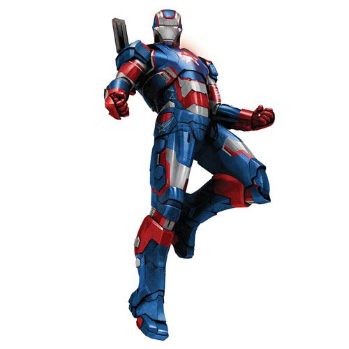 Iron Man 3 Iron Patriot Pre-Assembled Action Hero Vignette