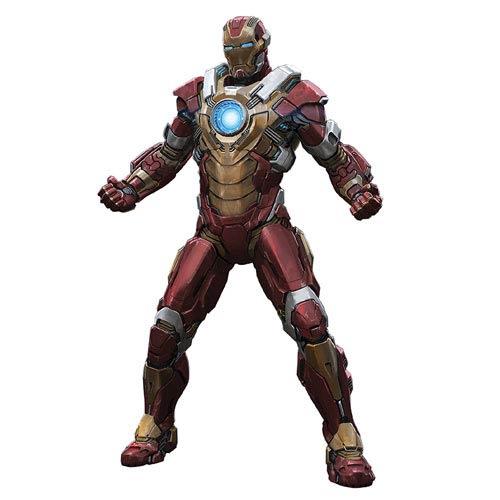 Iron Man 3 Mark 17 Heartbreaker Armor Pre-Assembled Model