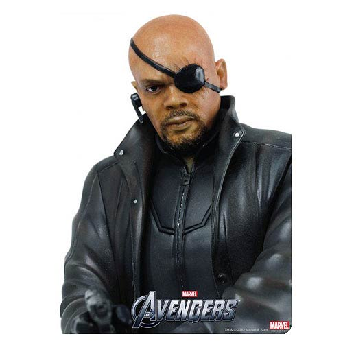 Avengers Nick Fury 1:9 Scale Model Kit