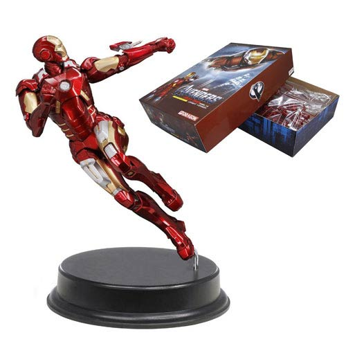Avengers Iron Man MK VII Combat Version Model Kit