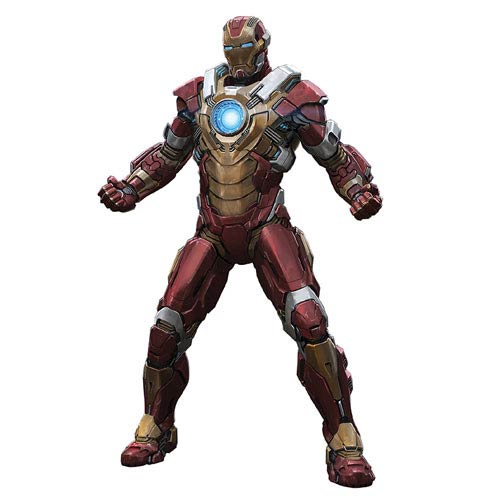 Iron Man 3 Mark 17 Heartbreaker Armor 1:9 Scale Model Kit ...