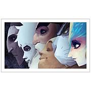 Rise of the Guardians Character Profiles Lineup Art Print