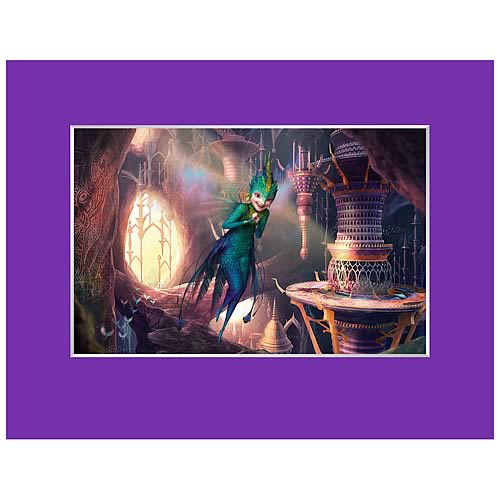 Rise of the Guardians Fairies Concept Artwork Laser Cel