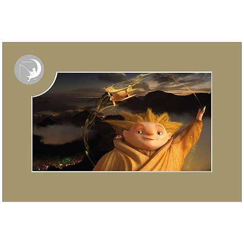 Rise of the Guardians Sandman Concept Artwork Laser Cel