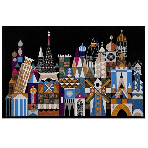 Disney It's A Small World Facade Disneyland Stone Artwork