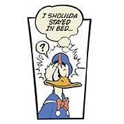 Donald Duck Shoulda Stayed In Bed Stone Artwork