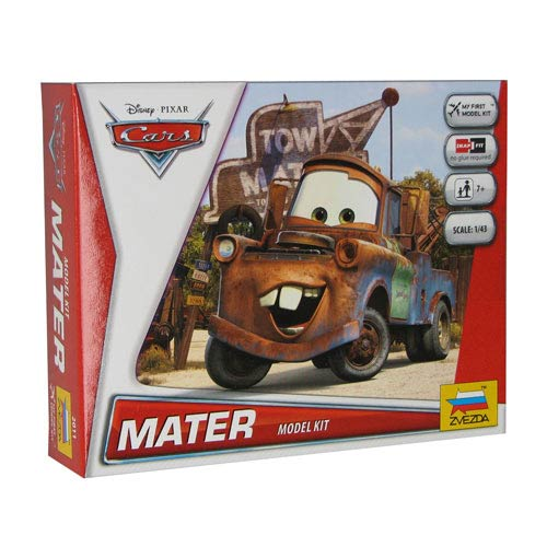 Cars Movie Tow Mater Vehicle Snap Fit Model Kit