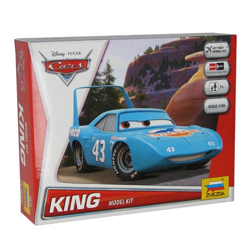 Cars Movie The King Vehicle Snap Fit Model Kit
