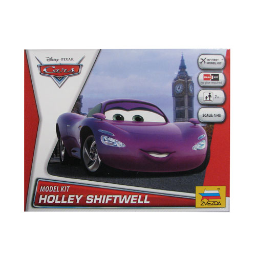 Cars Movie Holley Shiftwell Vehicle Model Kit