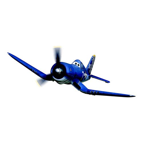 Planes Movie Skipper Riley Vehicle Snap Fit Model Kit