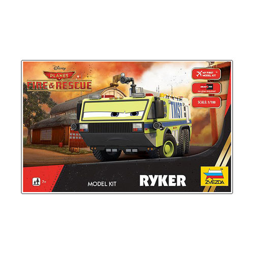 Planes Fire and Rescue Ryker Vehicle Model Kit
