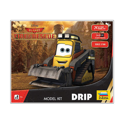 Planes Fire and Rescue Drip Vehicle Model Kit