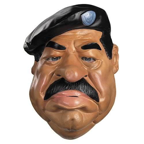Saddam Hussein Adult Full Mask
