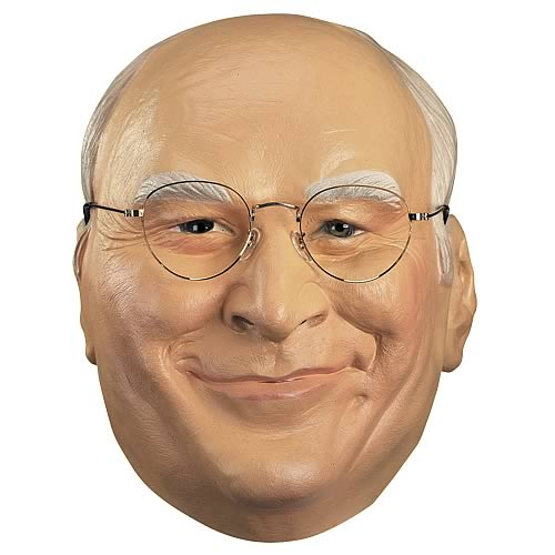 Dick Cheney Adult Full Mask