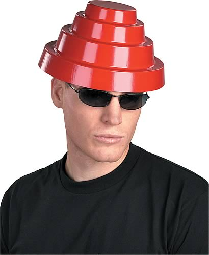 Devo Red Energy Dome Hat Replica