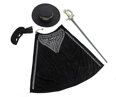 Zorro Adult Deluxe Accessory Set
