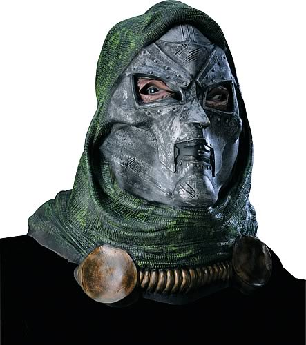 Dr. Doom Deluxe Adult Mask