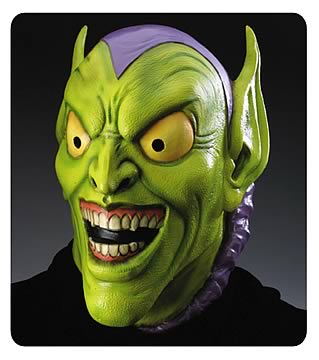 Green Goblin Deluxe Adult Mask