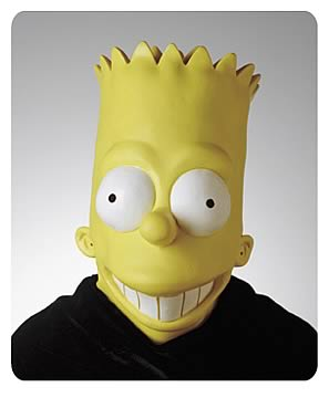 Bart Simpson Oversized Mask
